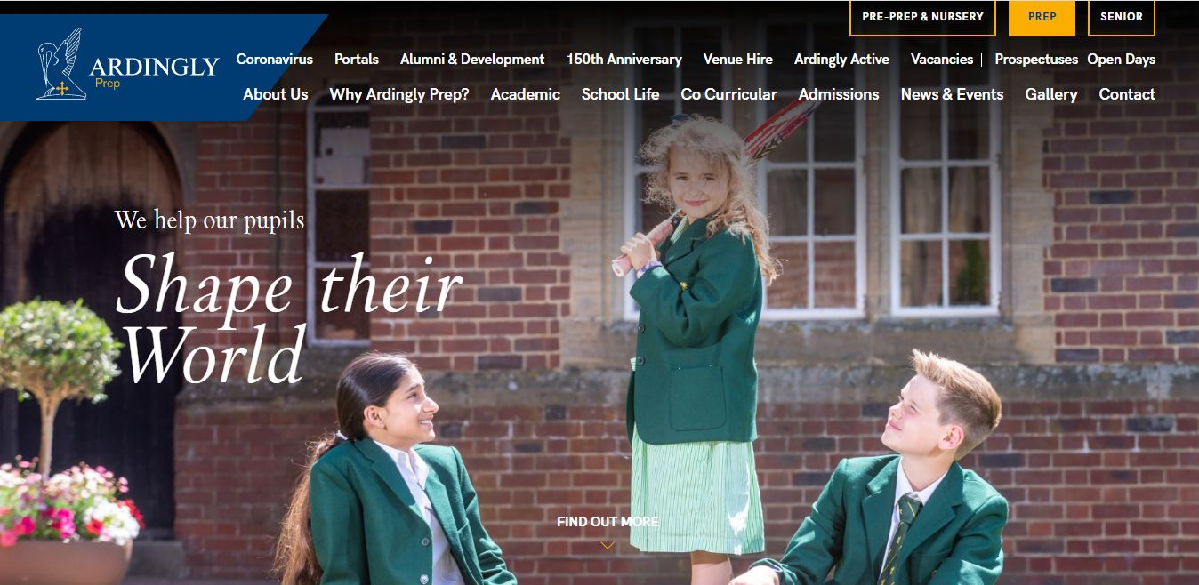 Ardingly College Home Page