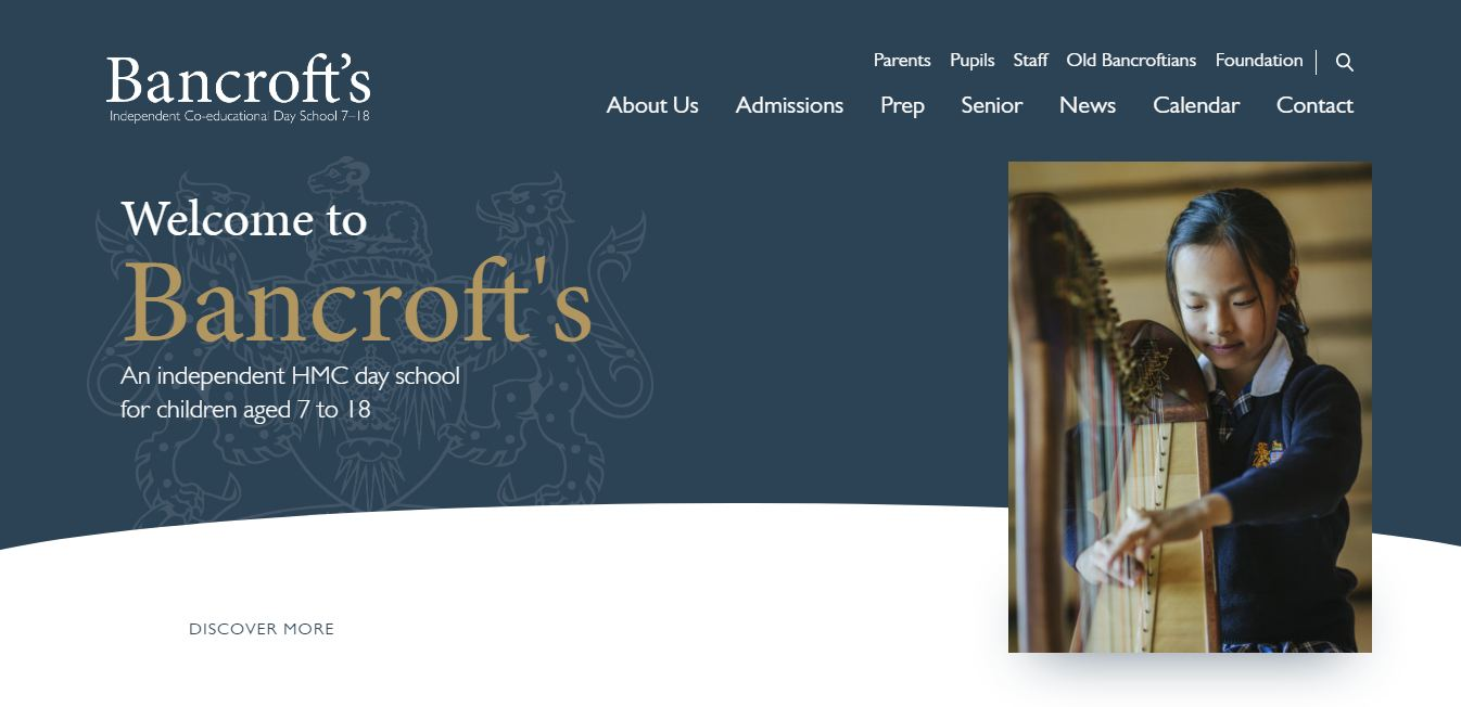 Bancrofts School Home Page