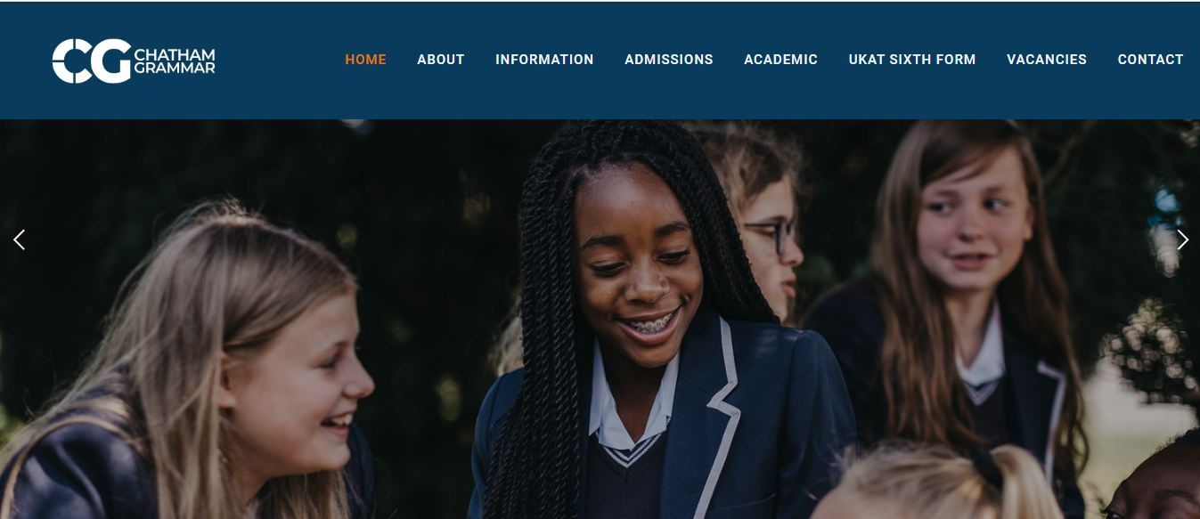 Chatham Grammar School for Girls Home Page