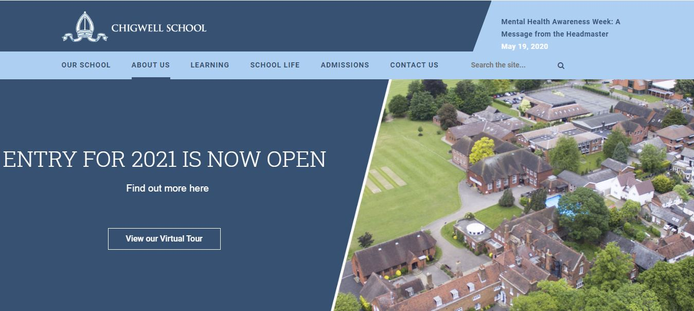 Chigwell School Home Page