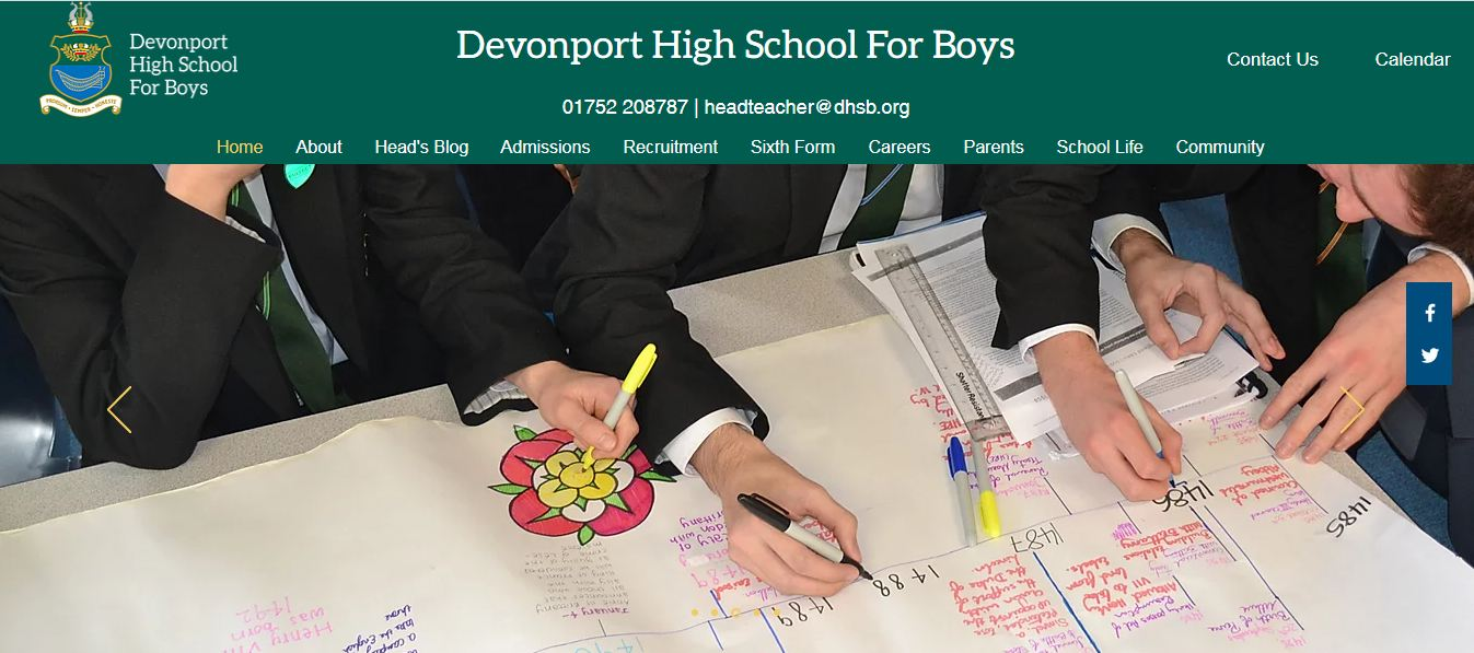 Devonport High School for Boys Home Page