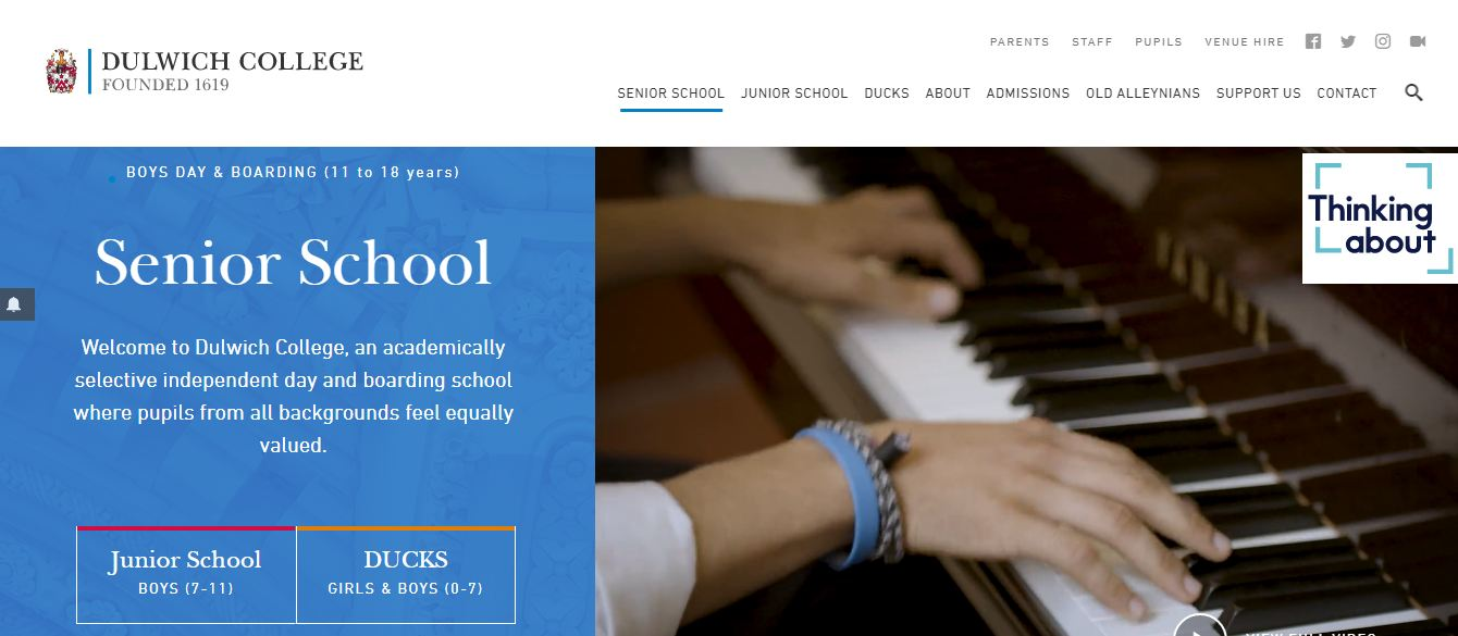 Dulwich College home Page