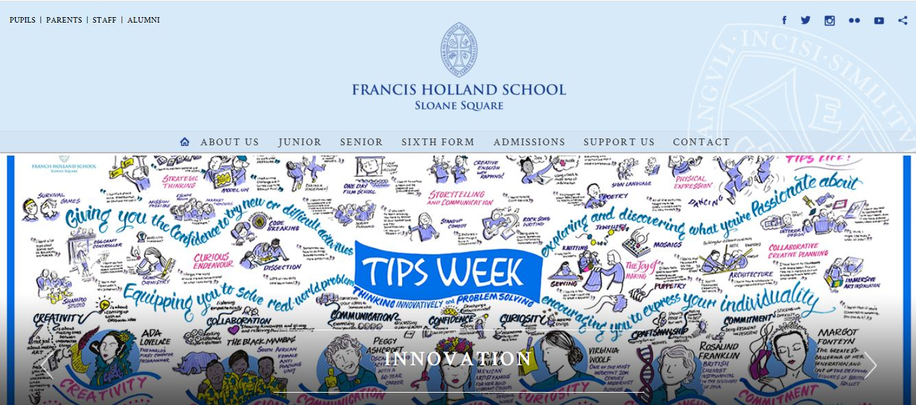 Francis Holland School Sloane Square Home Page