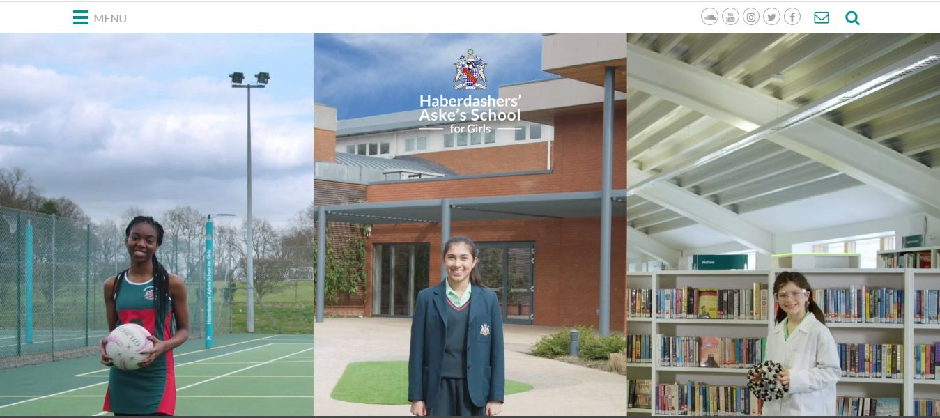 Haberdashers Askes Schoolfor school home page