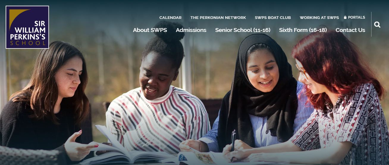 Sir William Perkins School Home Page