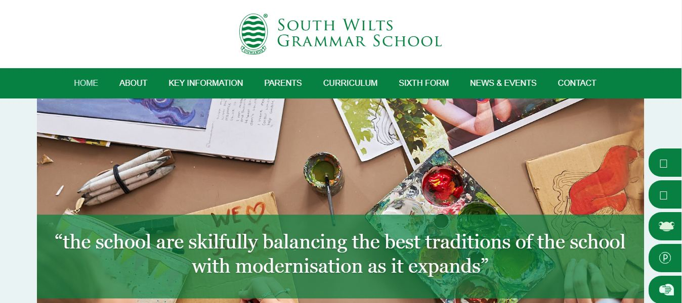 South Wilts grammar School Home Page