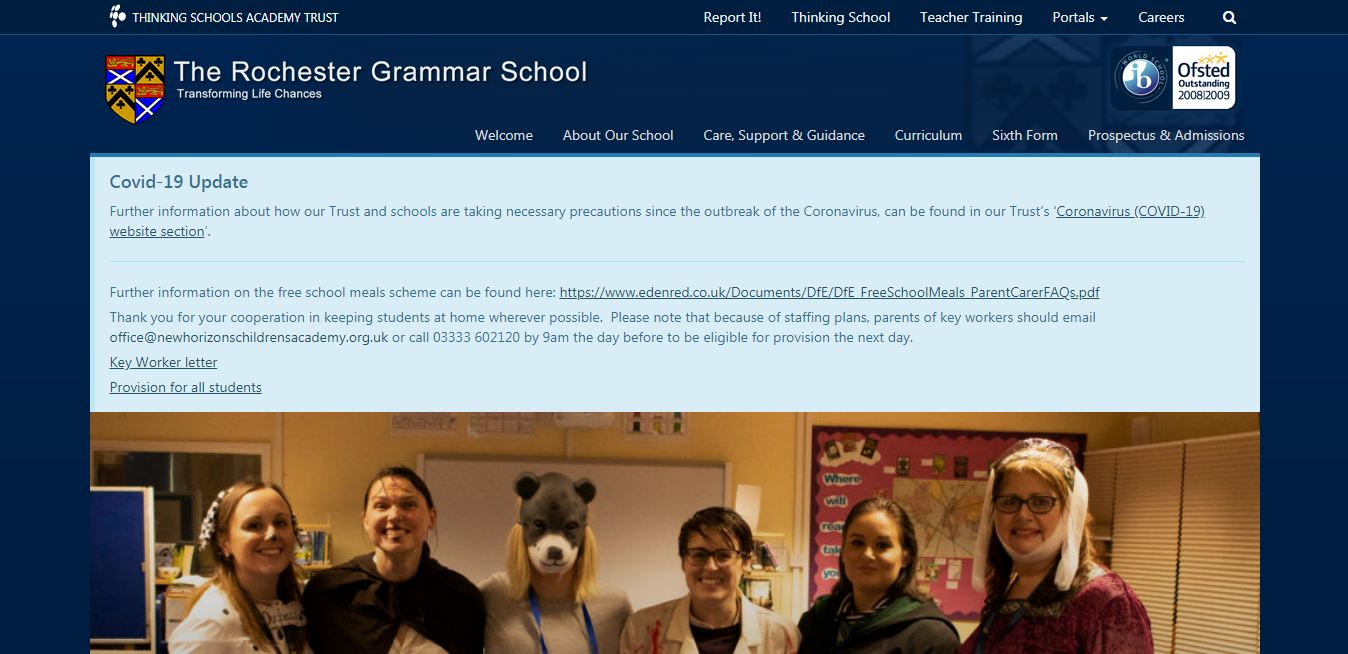 The Rochester Grammar School Home Page