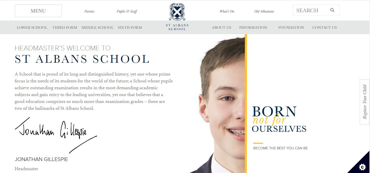 St Albans School Home Page