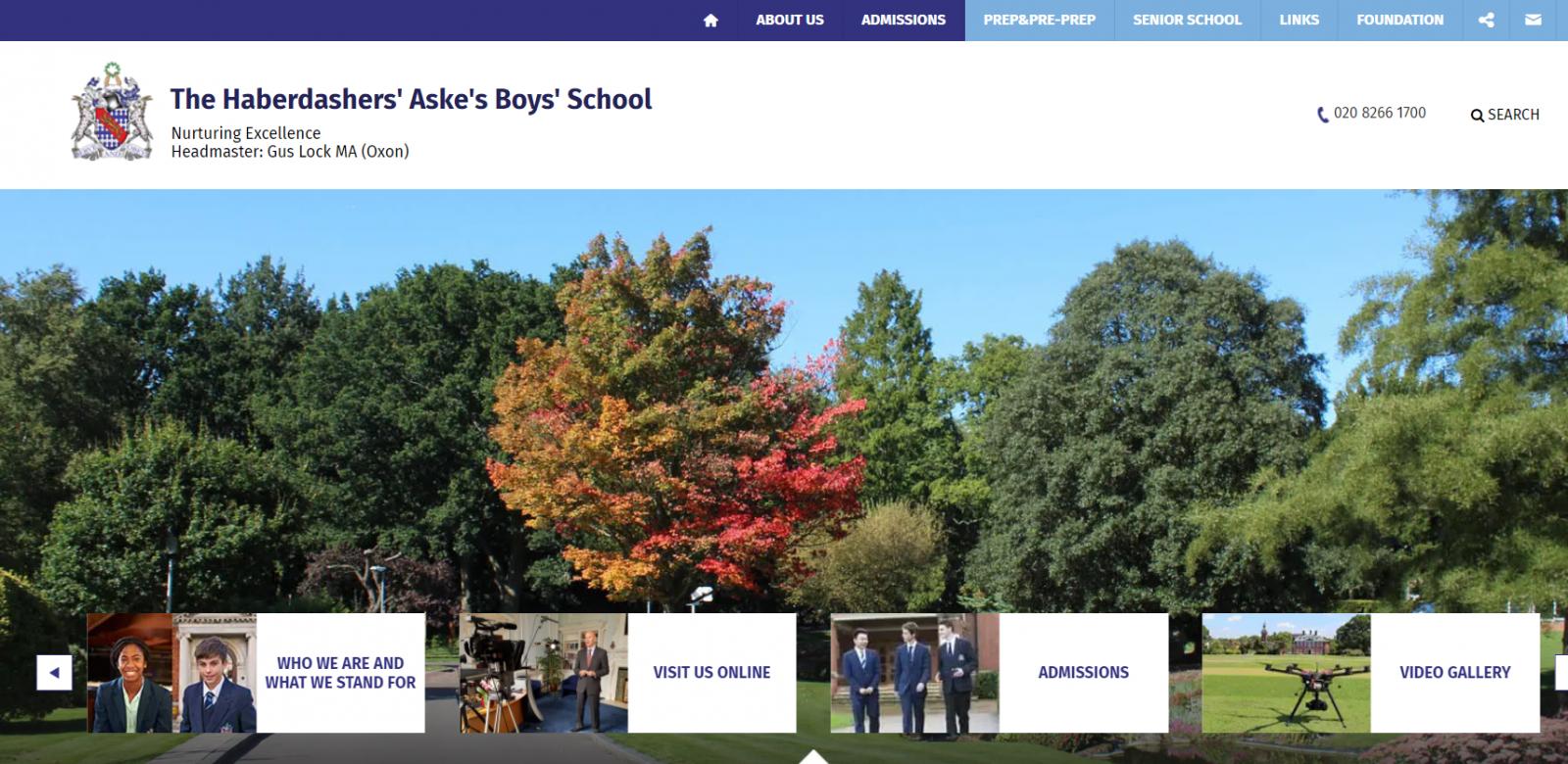 Haberdashers' Aske's Boys' School, Elstree