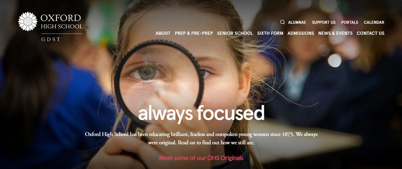 Oxford High School Home Page