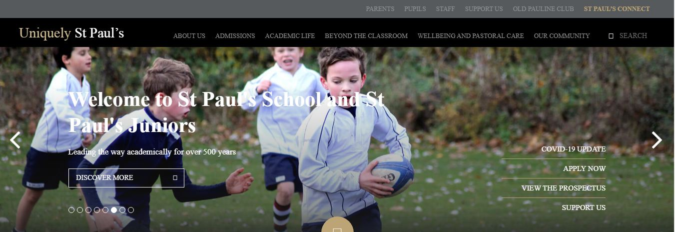 St Pauls School Home Page