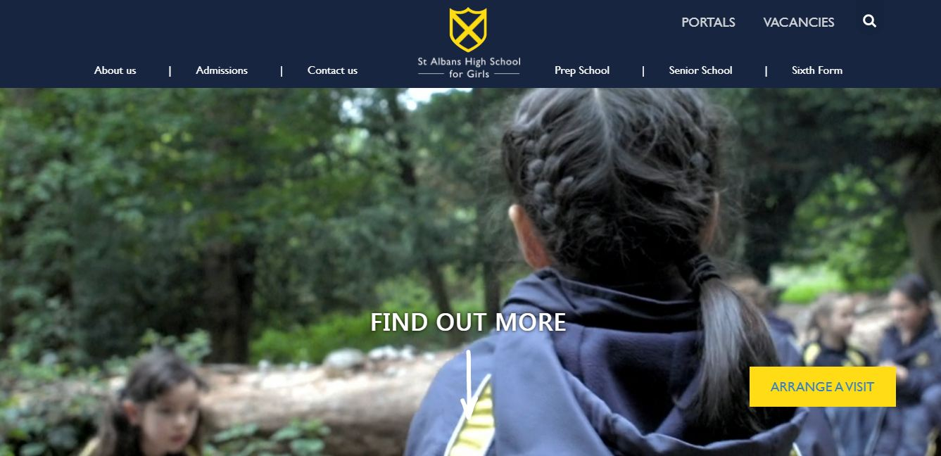 St Albans High School for Girls Home Page