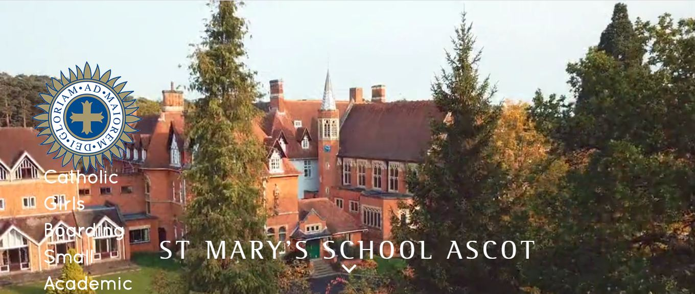 St Marys School Ascot Home page